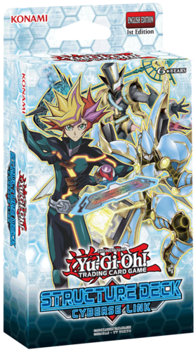 Yugioh! Structure Deck Display - Cyberse Link (shipping 2.11.2017)