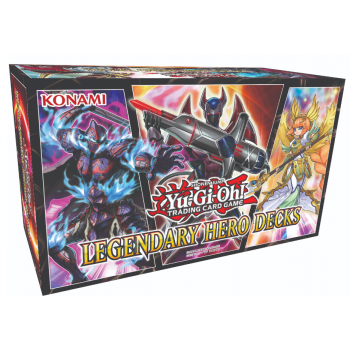 Yugioh! Legendary Hero Decks