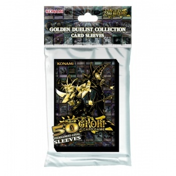 Yugioh! Golden Duelists - Card Sleeves (50 Sleeves)