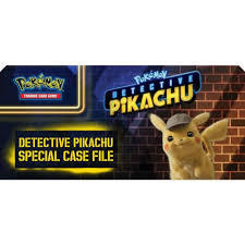 Detective Pikachu Special Case File Box