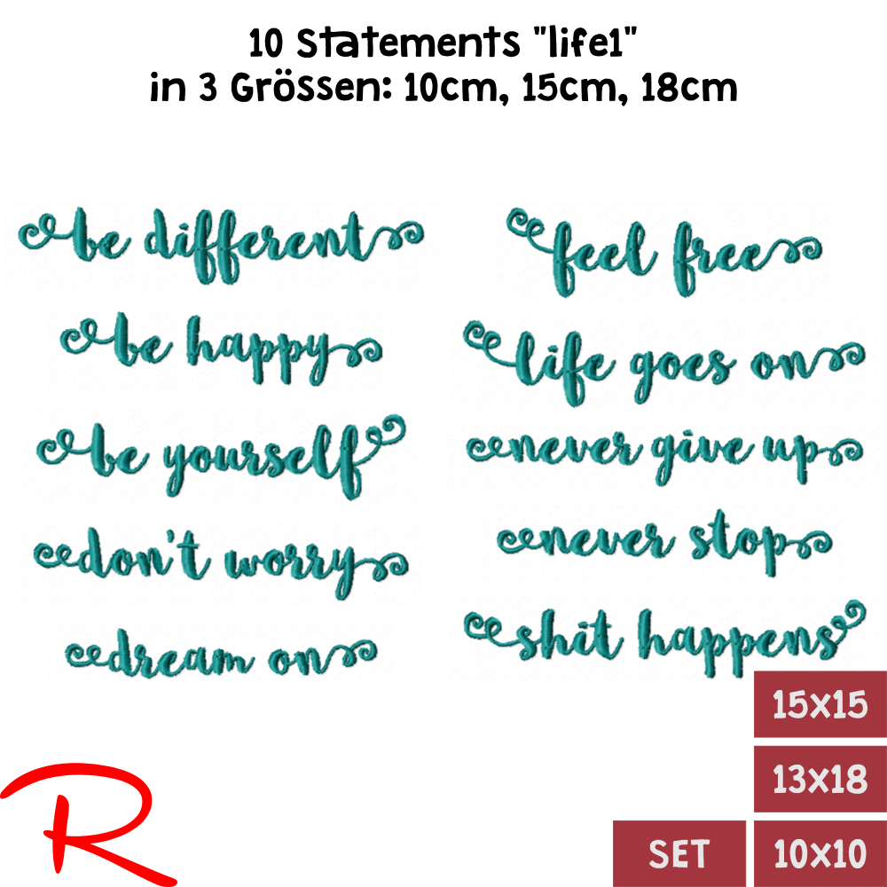 "Statements ""life1"" Set"