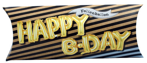 Happy B Day - Folienballon