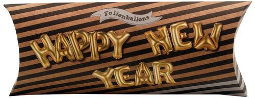 Happy New Year - Folienballon