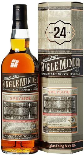 Douglas Laing's Single Minded Speyside 24 yo 700ml 46%