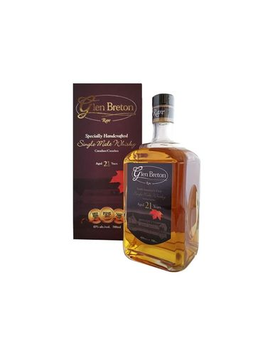 Glen Breton 21 Jahre Rare Single Malt Whisky 0,7 L mit 43 % vol. alcohol