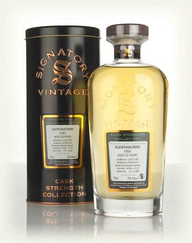Signatory Vintage Glentauchers 20 Years Old Cask Strength Collection 1997 50,4% Vol. 0,7