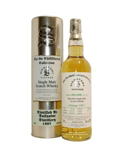 Signatory Vintage Dailuaine 20 Years Old The Un-Chillfiltered Collection Vintage 1997 46% Vol. 0,7 l