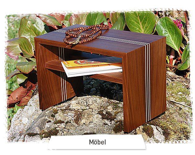 Der Shop für Meditation und Freude - Möbel