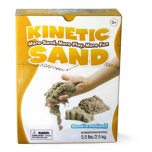 Kinetic Sand 2,5 kg - Set 12 - Kiga Set 30 kg