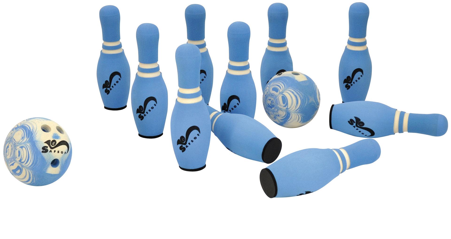 Soft Bowling  - groß - mit Tragetasche HAMMERPREIS