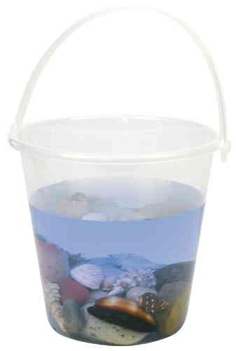 Klarsicht Eimer  - groß  2,5 Liter