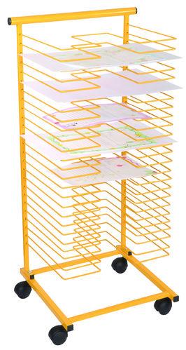 Papiertrockenständer -  gelb
