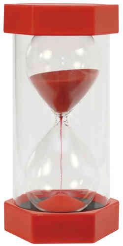 Gigasanduhr 5 min  - Rot 30 cm hoch