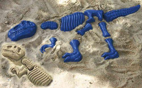 Sandform, Dinosaurier 10 Teile