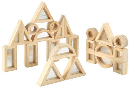 Spiegelblocks - Bausteine 24 teilig