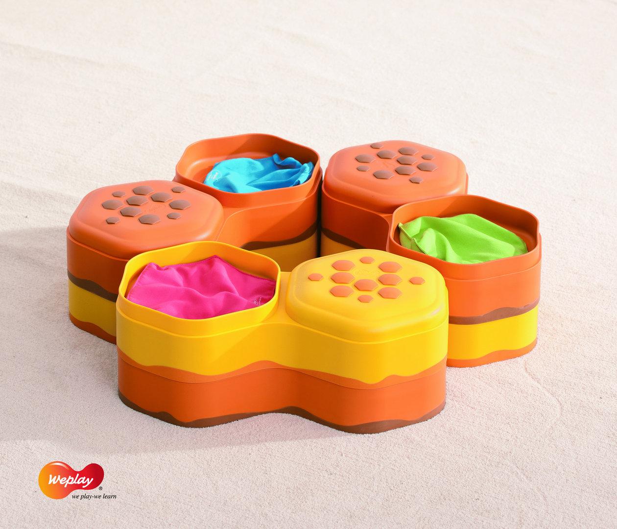 Honey Hills - Steine Set zum Befüllen und Stapeln TOP