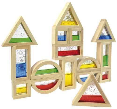 Blocks mit Glitter - Bausteine