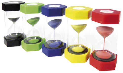 Mega Sanduhren Set 5 - 1,3,5,10,15 Minuten