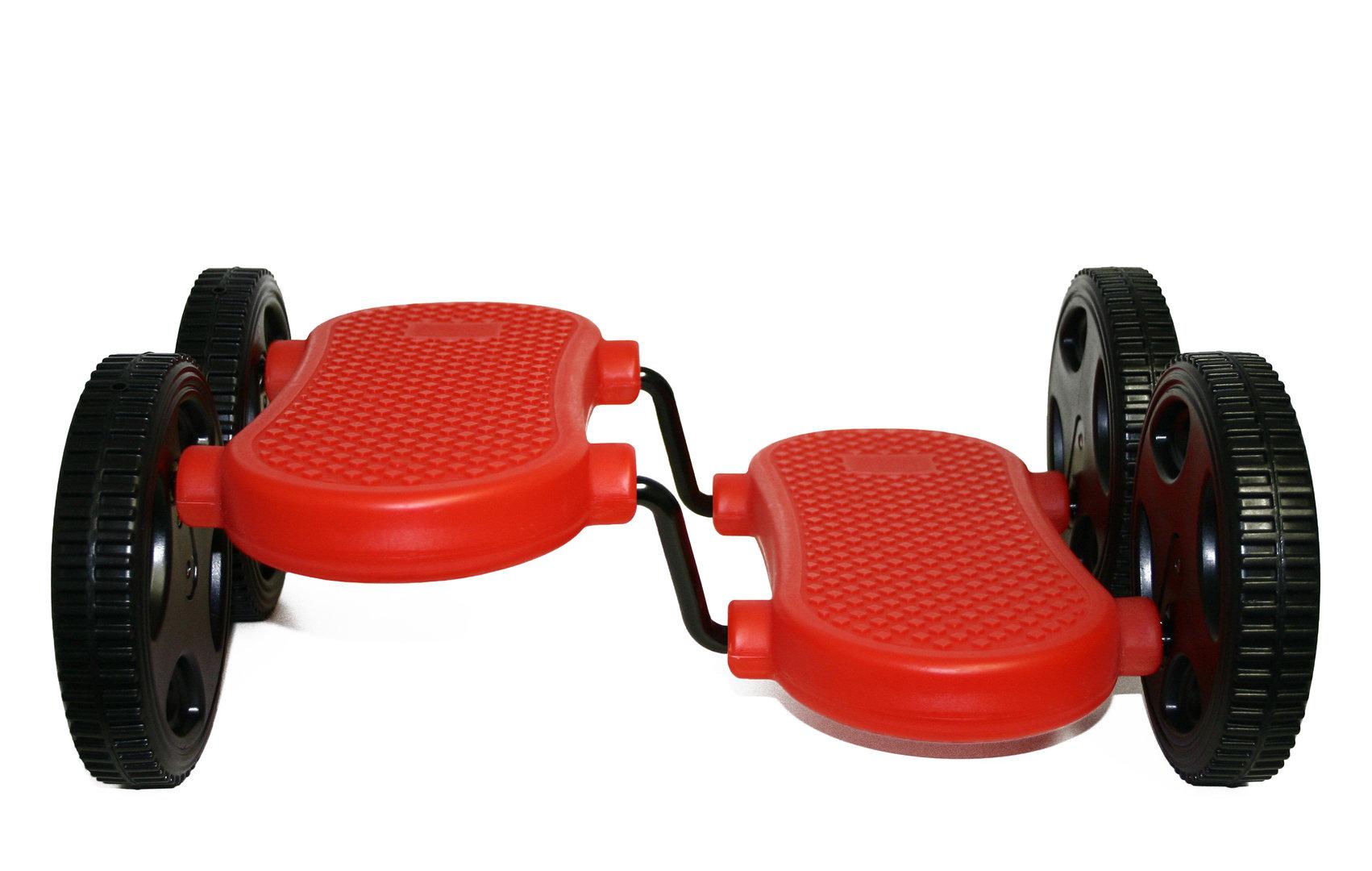 Pedalroller Rot