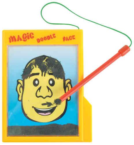 Magnetpulvergesicht Magnetspiel
