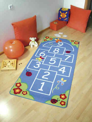 Teppich Hüpfespiel 200x95 cm - Klassiker Indoor