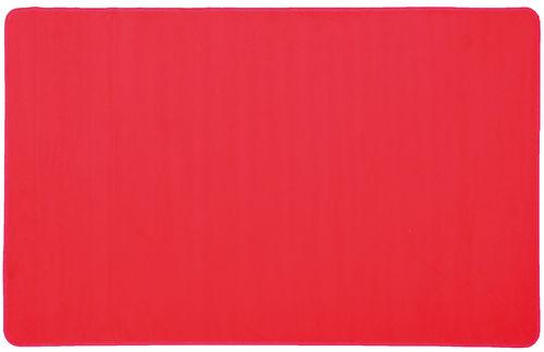 Teppich flammhemmend Farbe Rot 200 x 300 cm - Gruppenraum