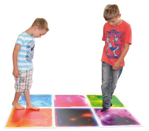 Aqua Fluid Faszinationsmatten - Wassermatten - Farbmatten SET 6