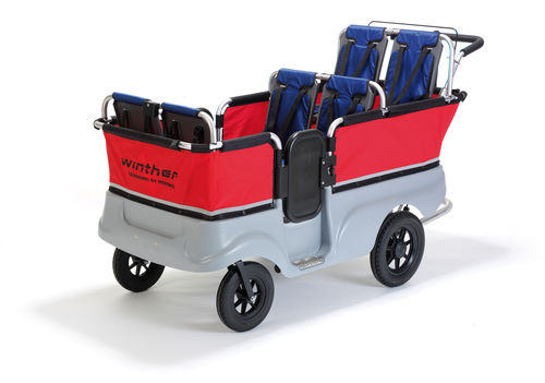 Turtle Kinderbus Basic - 6 Kinder - Winther