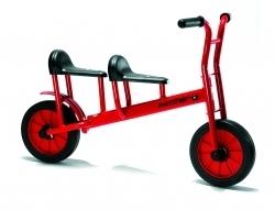 Tandem Laufrad f. 2 Kinder   4-7 Jahre - Winther