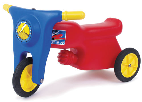 Motorrad  - Rutscher mit Gummirädern
