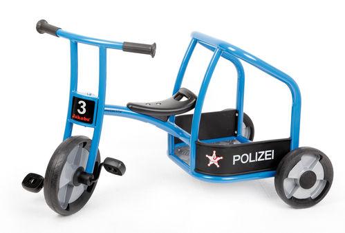 Dreirad Polizei aktiv, BLAU  TOP