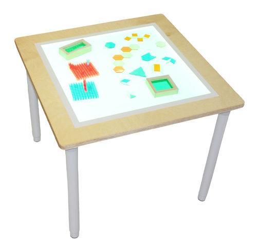 Leuchttisch weiß