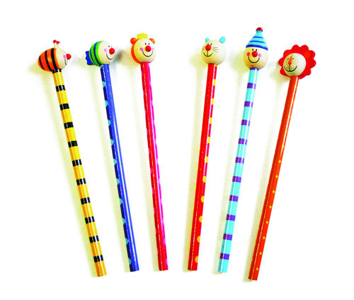 Bleistift mit Tierkopf - Geschenk
