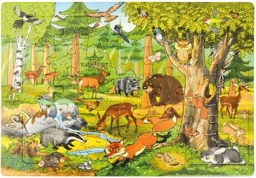 Puzzle Wald 45 x 30 cm