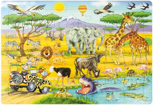 Puzzle Safari 45 x 30 cm