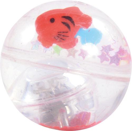 Wasser Flummi Fisch -  Leuchteffekt Blinki - Geschenk