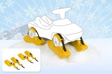 Kufen 4 Stück  für Rutscherfahrzeuge im Schnee