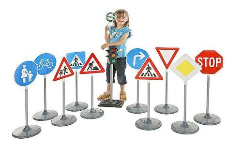 Verkehrsschilder Set 10 - Set A und B
