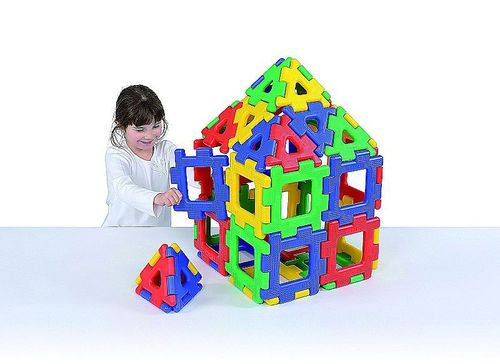 Konstruktionsmaterial Riesen Polydron 40 Teile