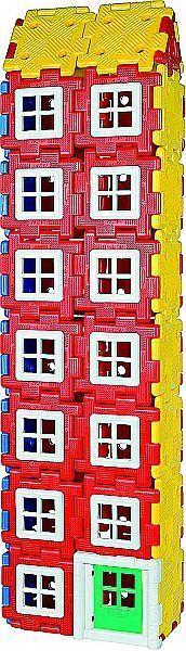 Konstruktionsmaterial Riesen Polydron Set Haus 72 Teile