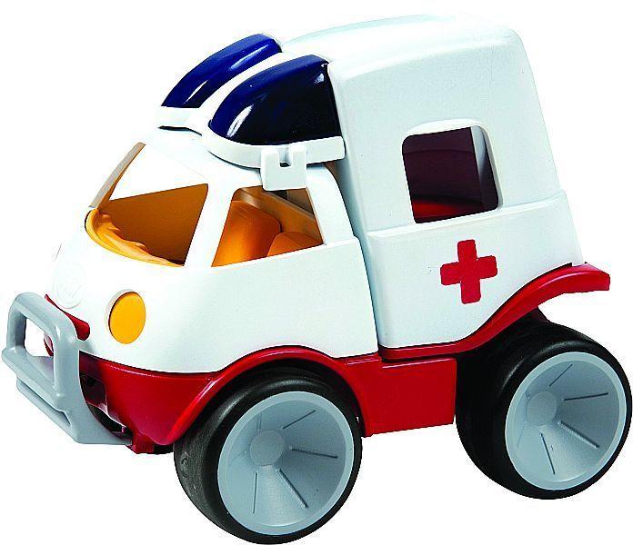Einsatzfahrzeuge Set 3 - Krippe- Polizei Feuerwehr Krankenwagen