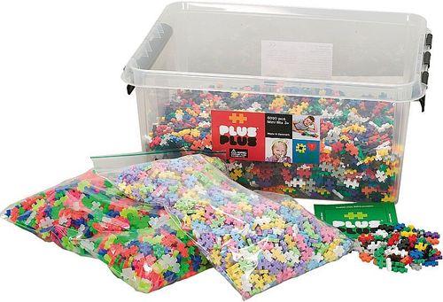 Plus Plus Mini 6000 Steine im Container