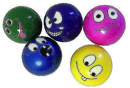 Ball mit Gesicht  10 cm Durchmesser