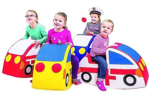 Auto Wipper Set 4 Sparset - Feuerwehr Polizei Taxi Krankenwagen