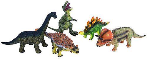 Dinosaurier Set 5 - große Ausführung je ca. 50 cm lang