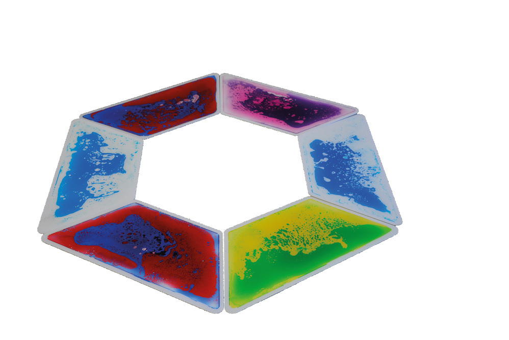 Aqua Platte Wasserplatte Wassermatte Trapez  Set 6