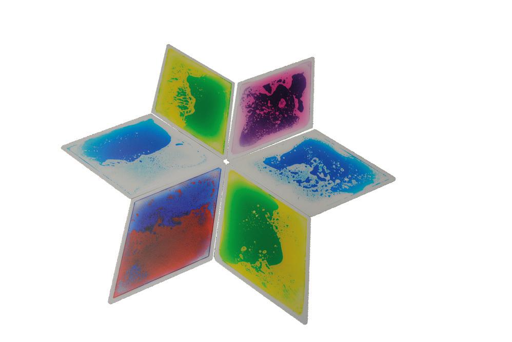 Aqua Platte Wasserplatte Wassermatte Raute  Set 6