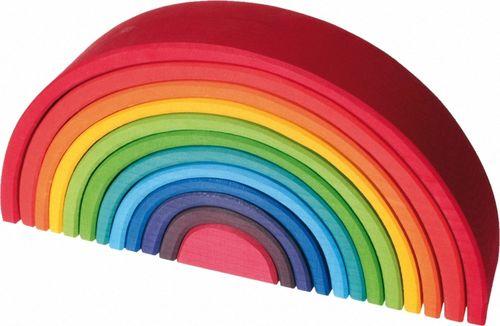 Regenbogen Holzbögen 12 Teile Riesengroß