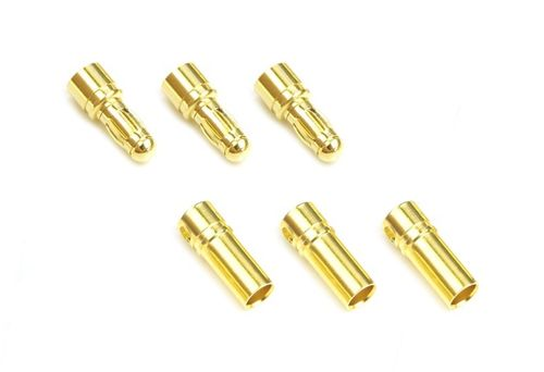 MR33 Brushless Motor Connector Set 3,5mm Male & Female