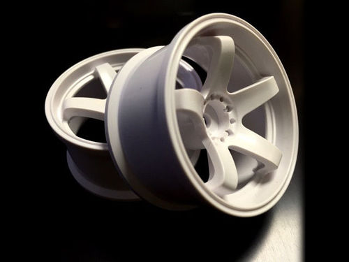 Topline N Model ver.3 High Traction Type  White Offset 5 / Wheel width 27mm ( 2 pics )